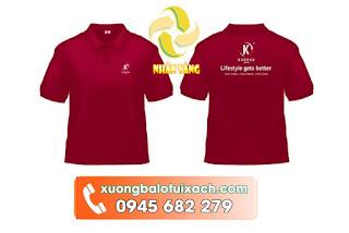 may áo thun đồng phục giá rẻ ở tphcm