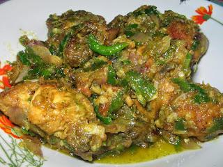 Resep praktis ayam rica-rica cabe hijau
