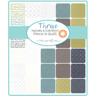 Thrive Fabric by Natalia & Kathleen of Piece N Quilt for Moda Fabrics