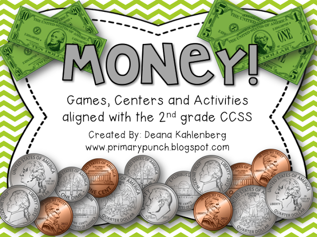 Second Grade Math Games Money Money Activities For
