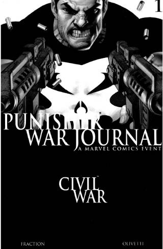 Civil War: Punisher War Journal #1 PDF