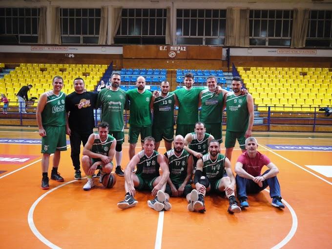Φωτορεπορτάζ από το παιχνίδι Κάσανδρος-Ελπίδα Αμπελοκήπων για το 24ο πρωτάθλημα του Συνδέσμου Βετεράνων Θεσσαλονίκης