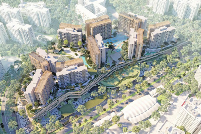 A CapitaLand and City Developments Ltd (CDL) tie-up has clinched a commercial and residential site in Sengkang Central.