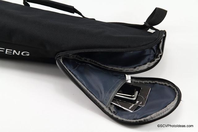 Weifeng WF-595T Tripod Carrying Case Pocket