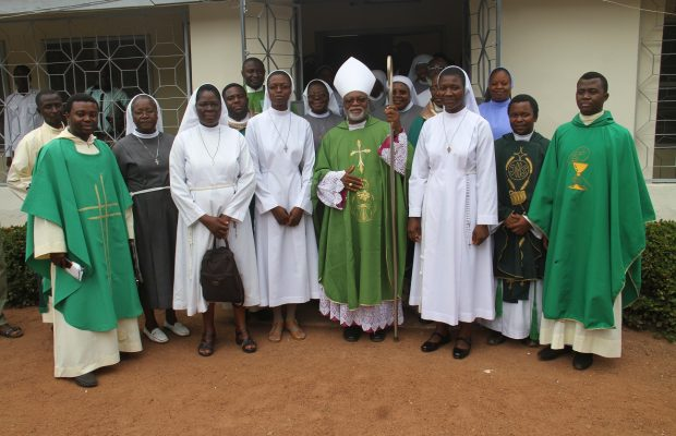 Soldiers Invade Catholic Church In Benue, Accuse Bishop Avenya Of Keeping Weapons