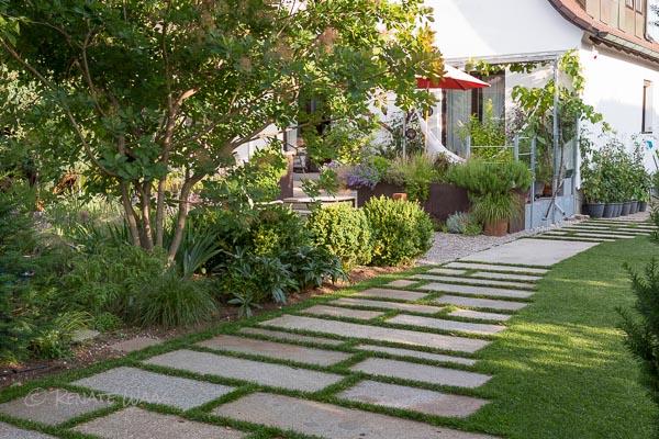 Schotterrasen für die einfahrt Garten Pinterest Einfahrt - garten am hang
