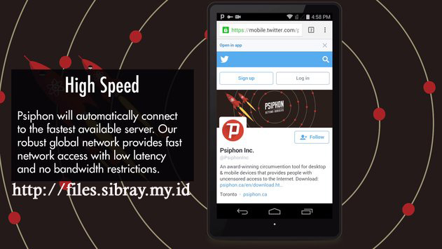 Psiphon Pro Versi Unlimited Apk For All Type Android