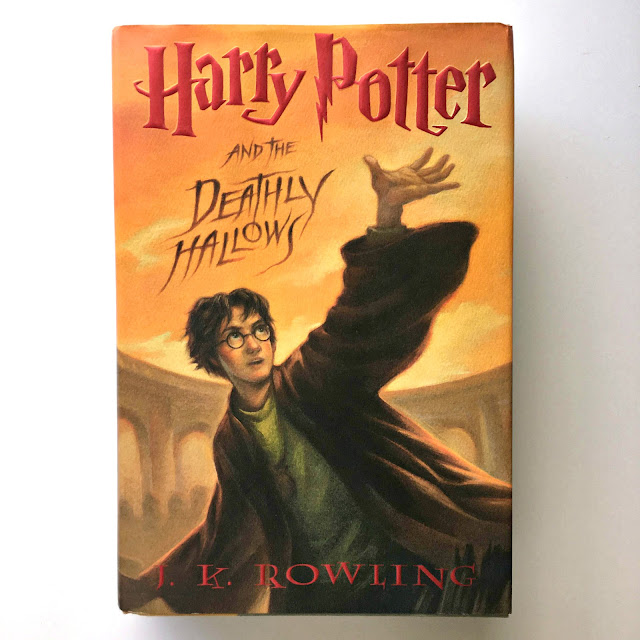 Harry Potter Ly Hallows Book Cover ~ Jactionary book review harry potter and the deathly hallows