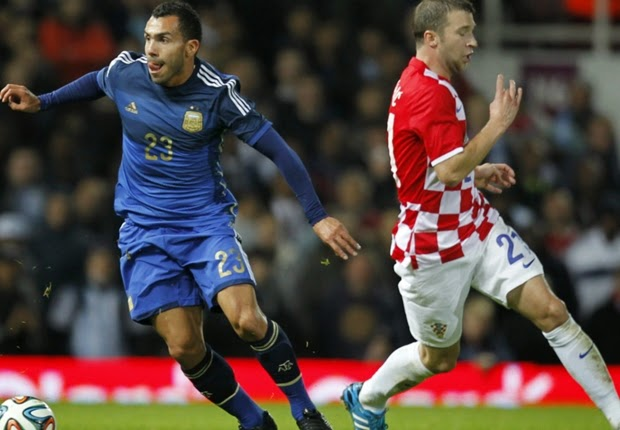 Argentina Menang Tipis Atas Kroasia 2-1