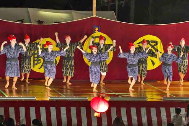 dance, kimonos, festival, Okinawa