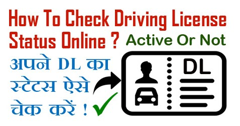 How To Check / Know Driving License Status Online in India