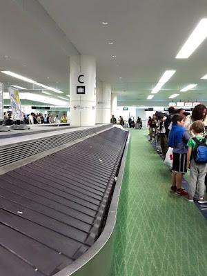 Baggage Carousel at Haneda Airport Tokyo