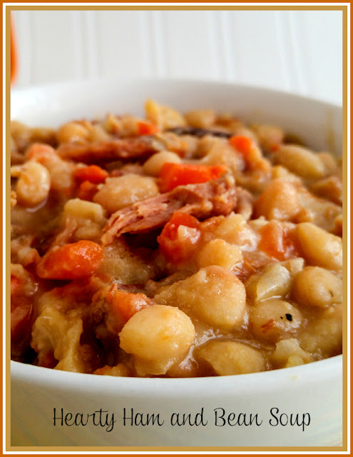 Hearty Ham and Bean Soup