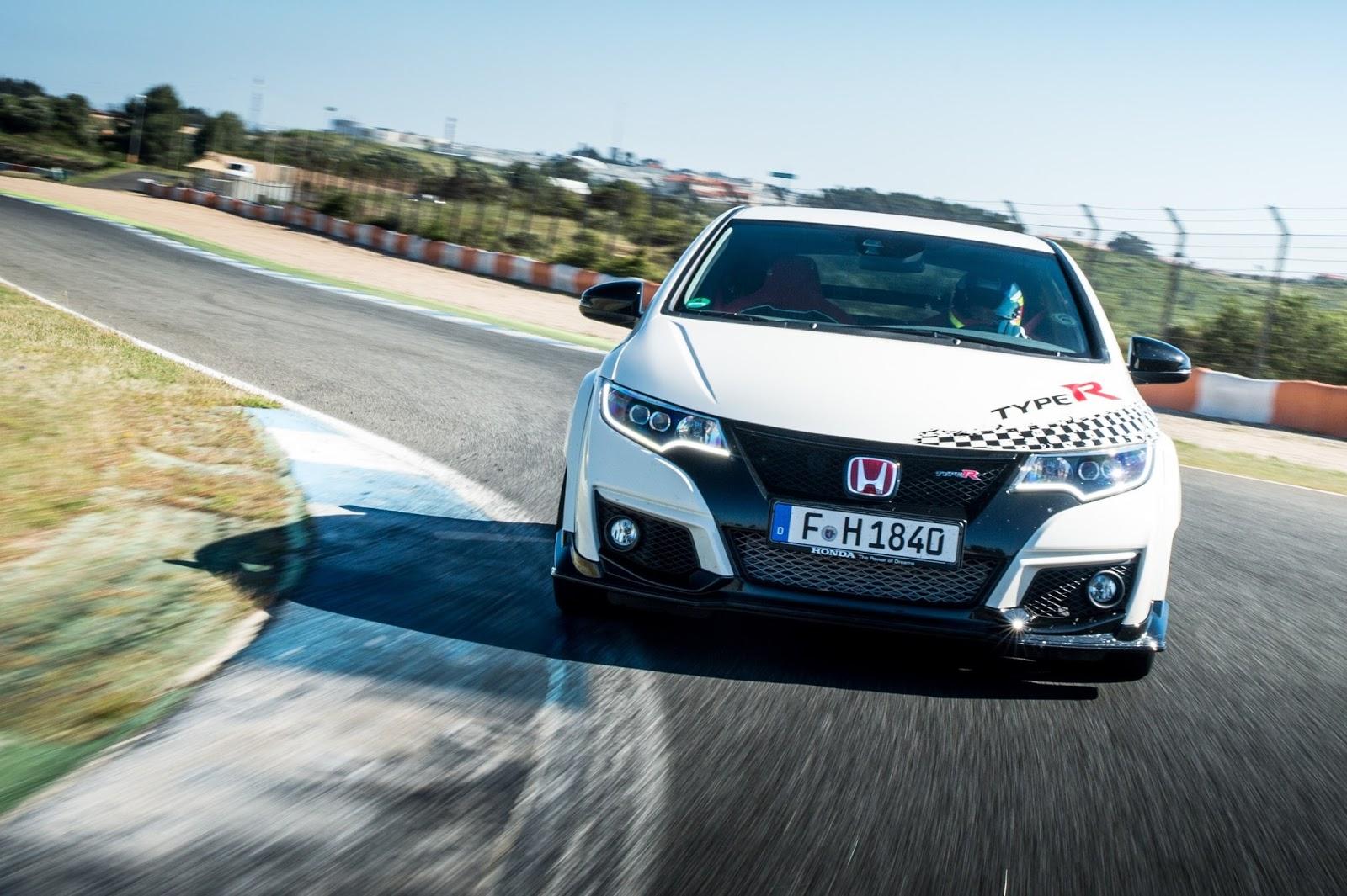 Η Honda ανακοίνωσε νέα ρεκόρ ταχύτητας για το Civic Type R σε πέντε θρυλικά Ευρωπαϊκά σιρκουί