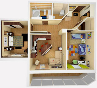 one-bedroom-apartment-style-floor-design-in-3d