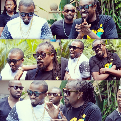 1 Ice Prince gets friendly with Beenie Man in Rwanda