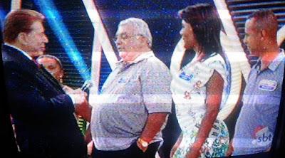 Morador de Nova Floresta leva prêmio de R$ 1.000.000,00 no programa Silvio Santos