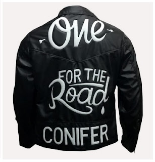 Gambar Jaket Kulit One For The Road Conifer