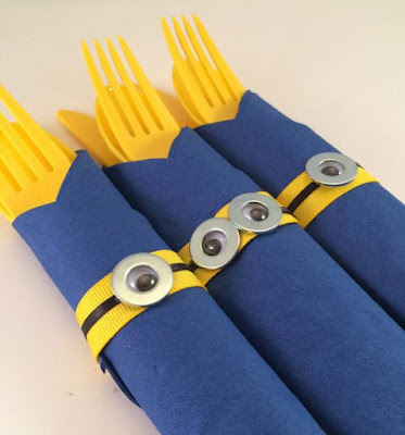 Minion Party Cutlery