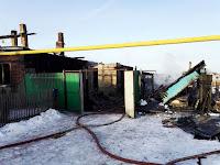 (ФОТО)31 января 2018 года в деревне Шата  в результате пожара в огне погиб 52 летний мужчина.