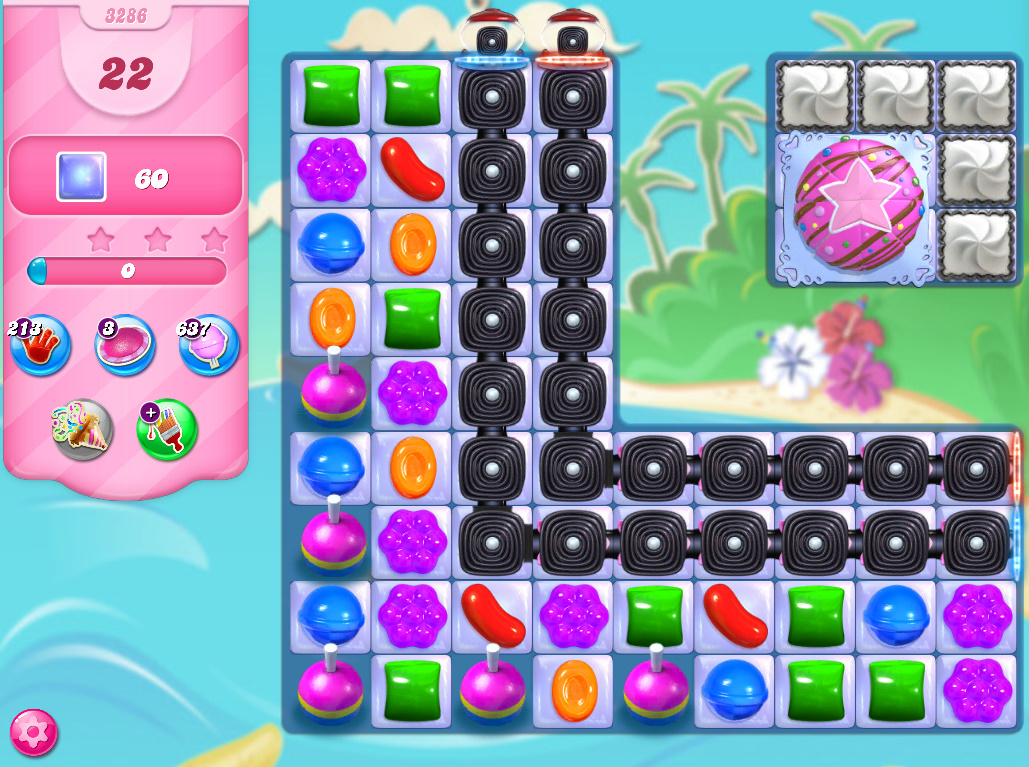 Candy Crush Saga level 3286