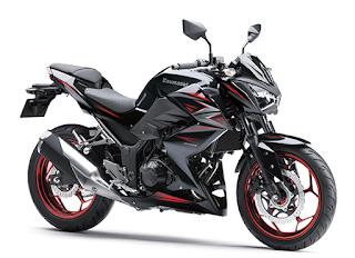 Kawasaki Z250 ABS terbaru 2016 hitam