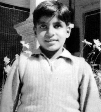 amitabh bachan childhood pictures