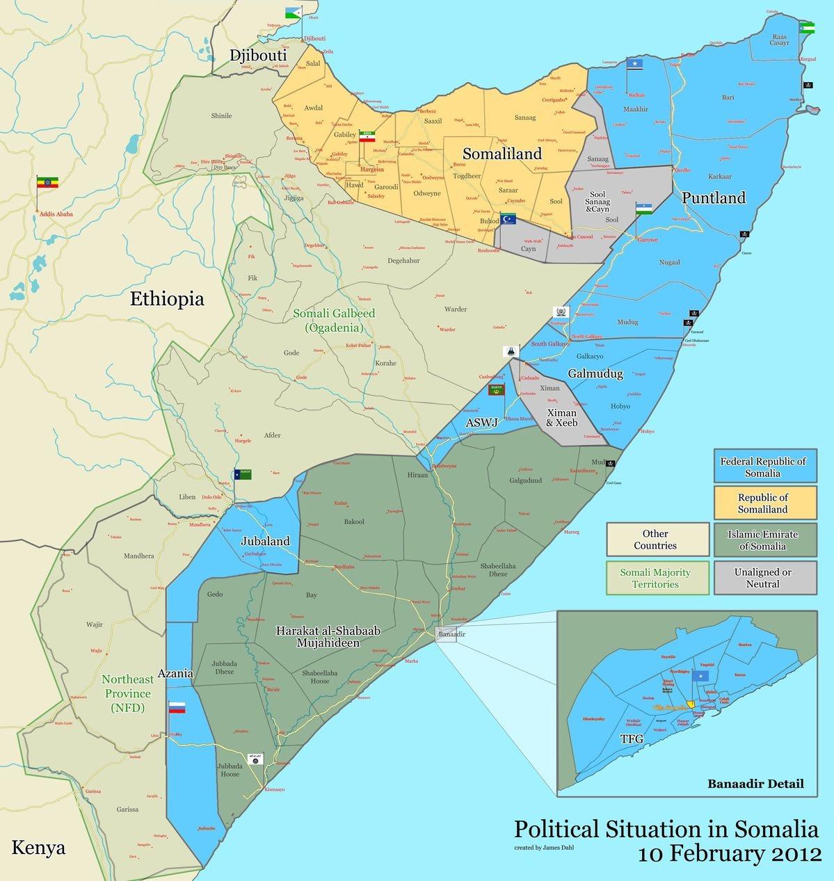 Mapas da Somália | Somalia Maps