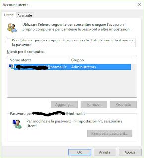 password login windows10