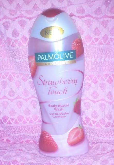 Palmolive Gourmet, Strawberry Touch - żel pod prysznic.