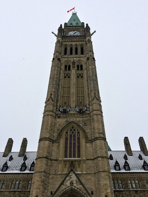 Ottawa's glorious Peace Tower which houses our 53 bell carillon