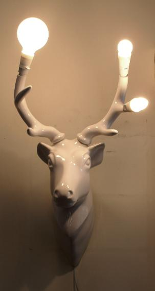 LET S STAY Decorative Faux Animal Heads for Your Home