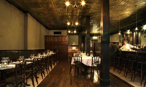 Restaurante Rye em Nova York