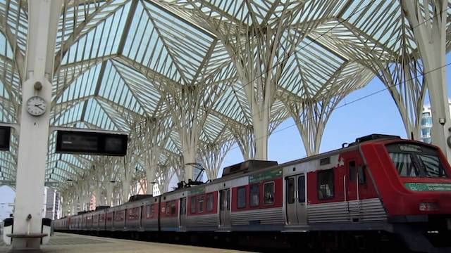 Estação Oriente em Lisboa