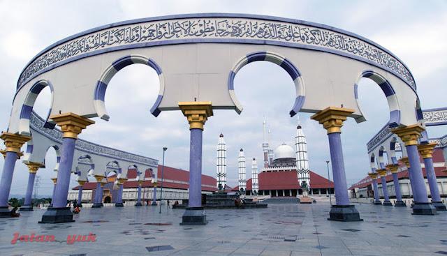 Wisata Semarang: Jalan Yuk Ke Masjid Agung Jawa Tengah