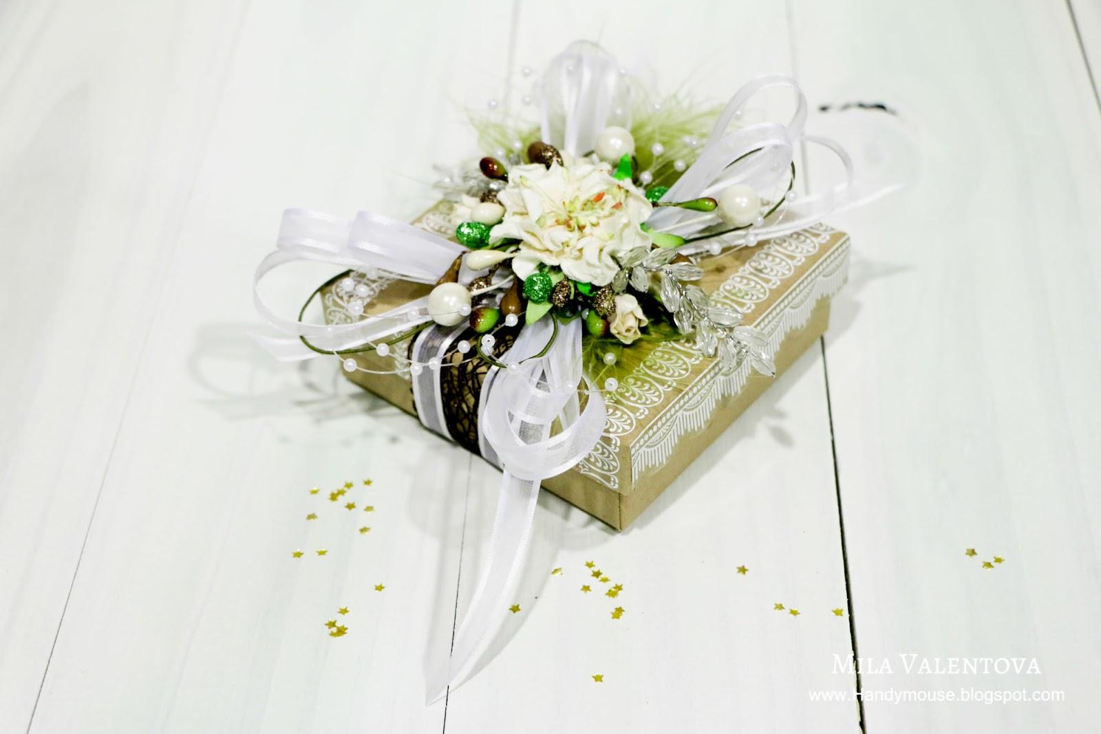 Мастер-класс бонбоньерка на свадьбу