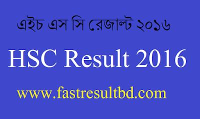 HSC Exam Result 2016, HSC Result 2016 Bangladesh, Bangladesh Education Board Result,
