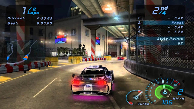 تحميل لعبه نيد فور سبيد: أندرجراوند Need for Speed Underground