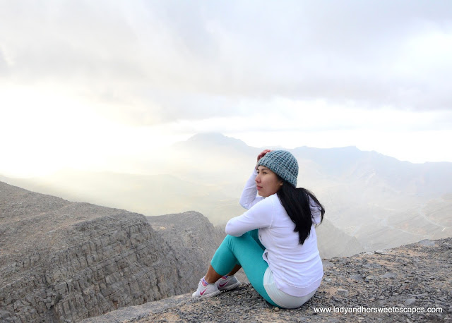 Lady in Jebel Jais