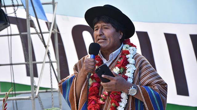 """Evo Morales: """"EE.UU. es la principal amenaza para la dignidad, igualdad e identidad de la humanidad"""""""