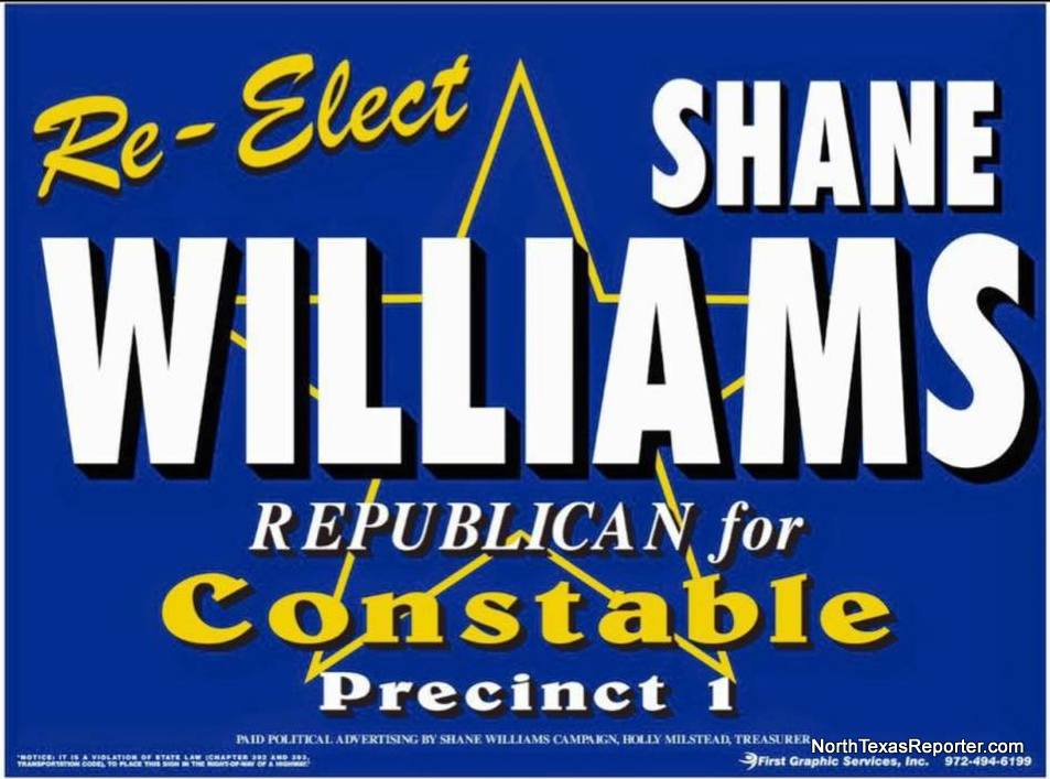 Re-Elect Constable Shane Williams