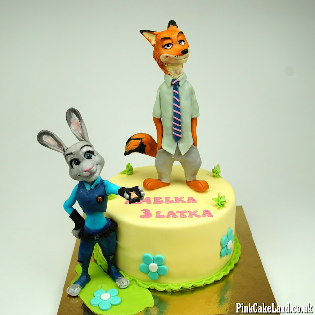 zootopia birthday cake london