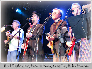 Rock Bottom Remainders: King, McGuinn, Iles, Pearson