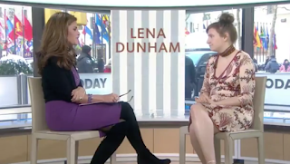 Lena Dunham flusters TV host Maria Shriver With PENIS Question In Very Awkward Interview