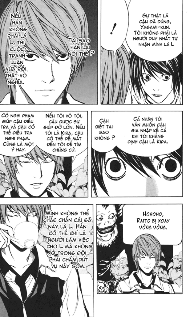Death Note chapter 021 trang 20