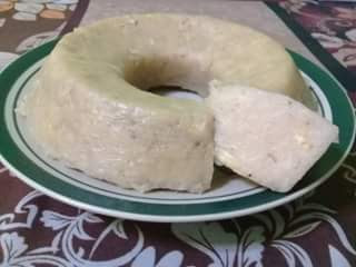 resep pudding pisang praktis