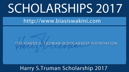 Harry S Truman Scholarship 2017