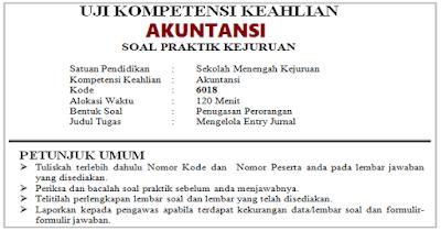 Soal UKK Akuntansi 2019 SMK dan Jawaban