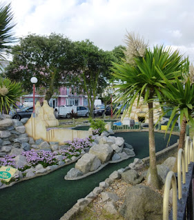 Adventure Golf at The Pavilion Fun Park in Clacton-on-Sea, Essex