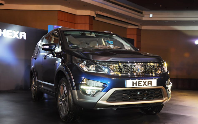 Tata Motors' lifestyle vehicle HEXA